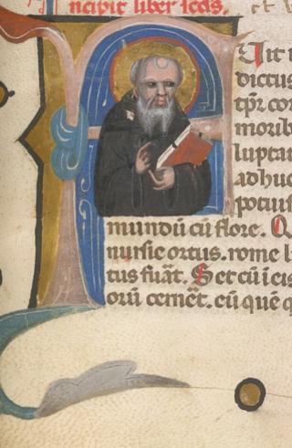 Burney MS 319, f. 22r