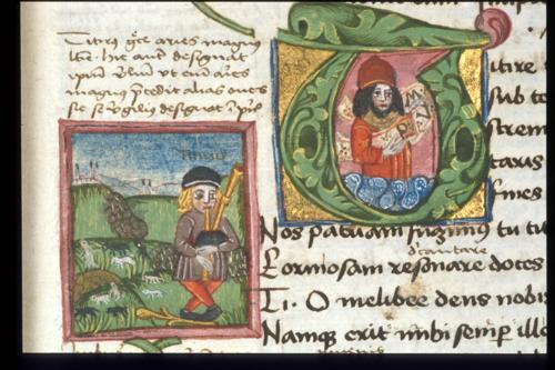 Burney MS 272, f 4 detail