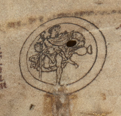 Cotton MS Julius A VI  f. 3v